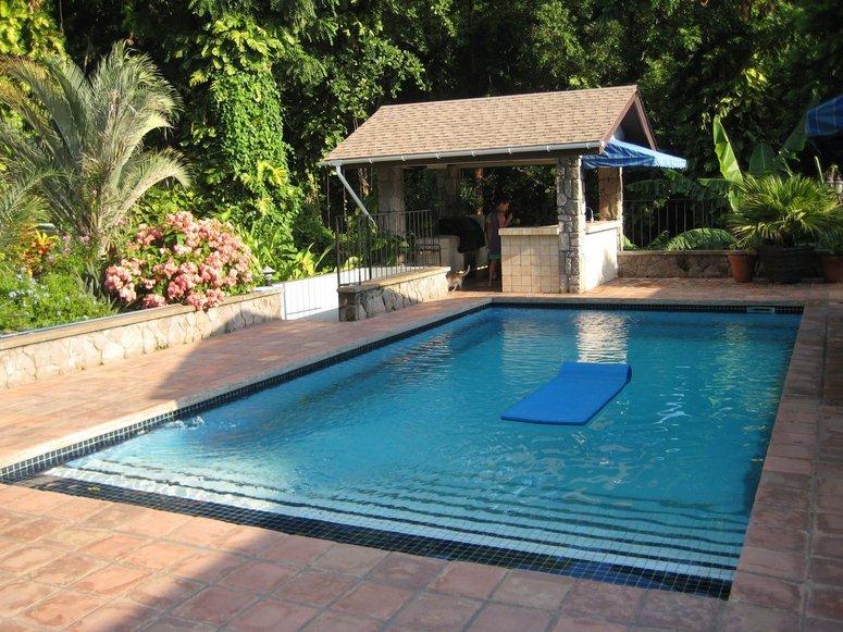 Enjoy a refreshing dip in a 33 Foot tiled pool!