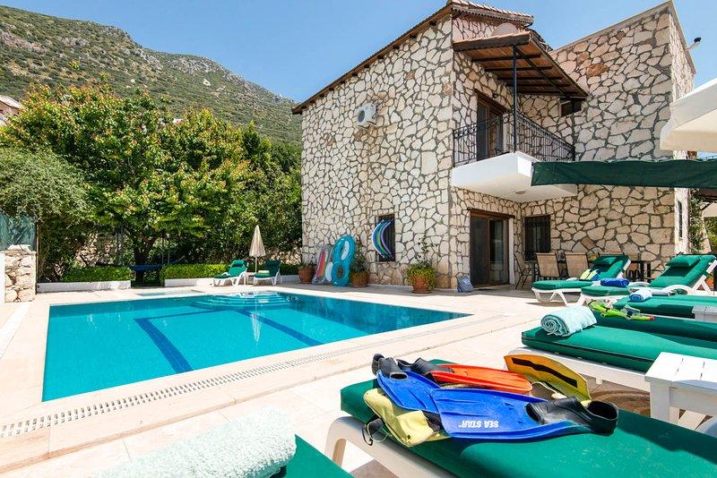 Tas Villa, holiday rental in Kalkan