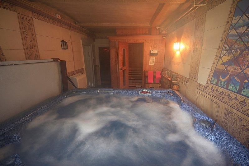 Hot Tub im Schloss