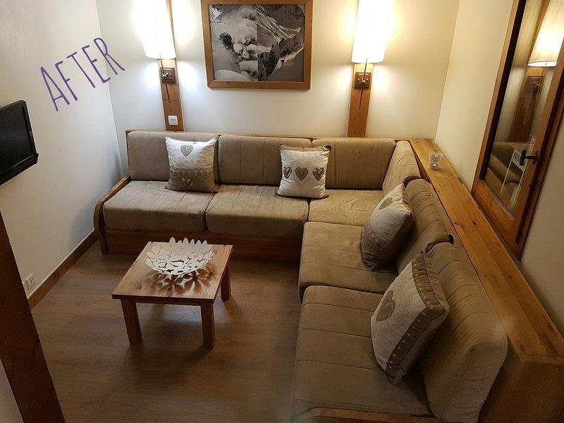 Notre Reve Apartment Chalet De Montchavin Paradiski, holiday rental in Montchavin