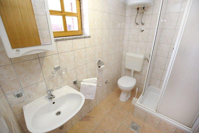 A1 (3 + 2): bagno con wc