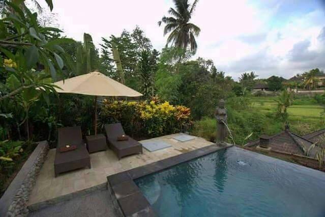 Kukuh 2Bdrm, Quiet, Wifi, Pool, Rice Field View, alquiler vacacional en Melayang