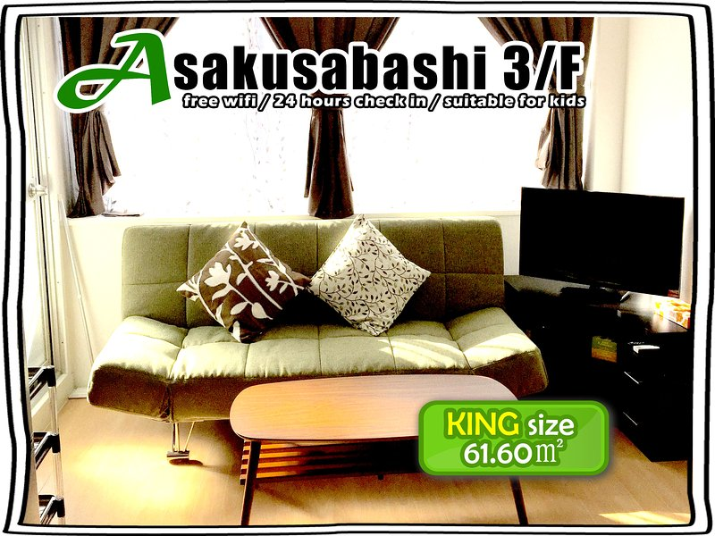 3/F COZY ROOM FOR 10, 2 BATHROOMS!, casa vacanza a Shikoku