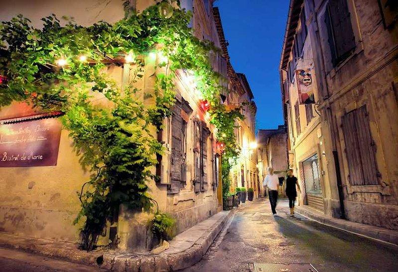 St Remy de Provence nearby