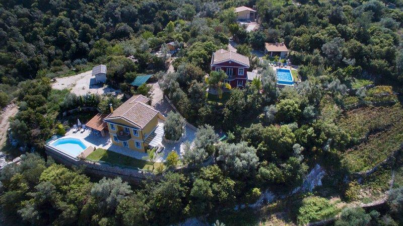 A view of Alea Resort Villas villa Phedra - villa Dioni