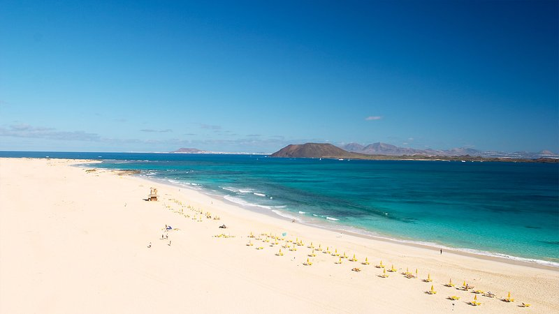 Corralejo´s sandy beaches