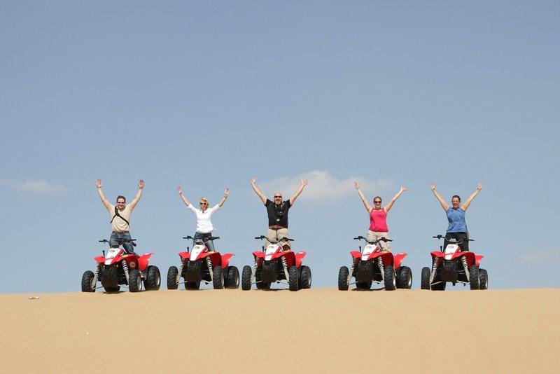 Excursions en quads