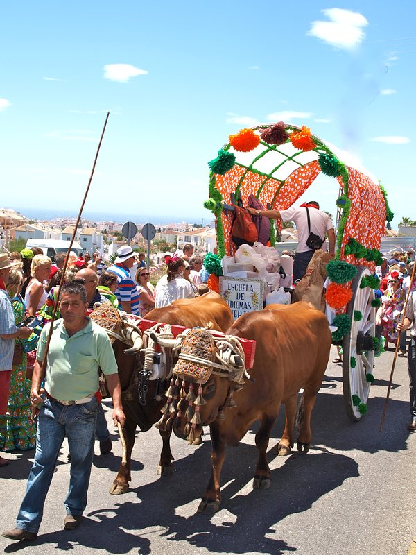 San Isidro Procession to the Caves