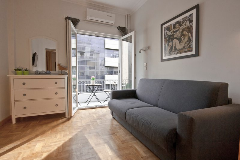 Living room &balcony