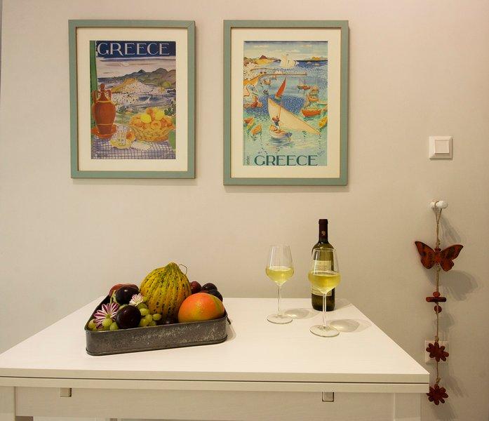 Artistic detail: Spyros' Vassiliou 'Greece' posters