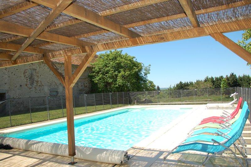 heated swimmingpool