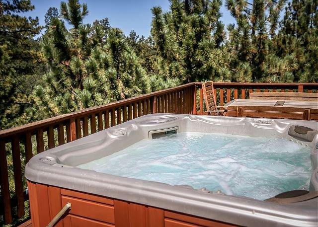 Close to SLOPES - LUXURY AMAZING VIEWS!  Private HOT TUB, alquiler de vacaciones en Big Bear Region