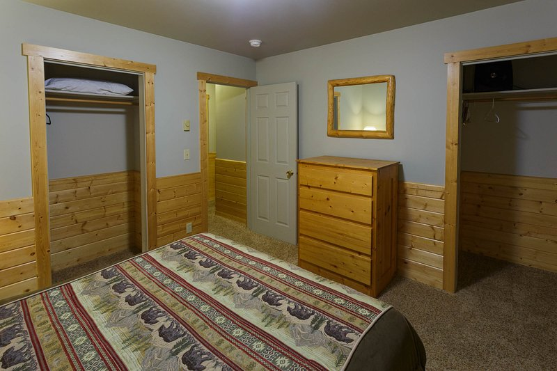 Bedroom 2 with closets