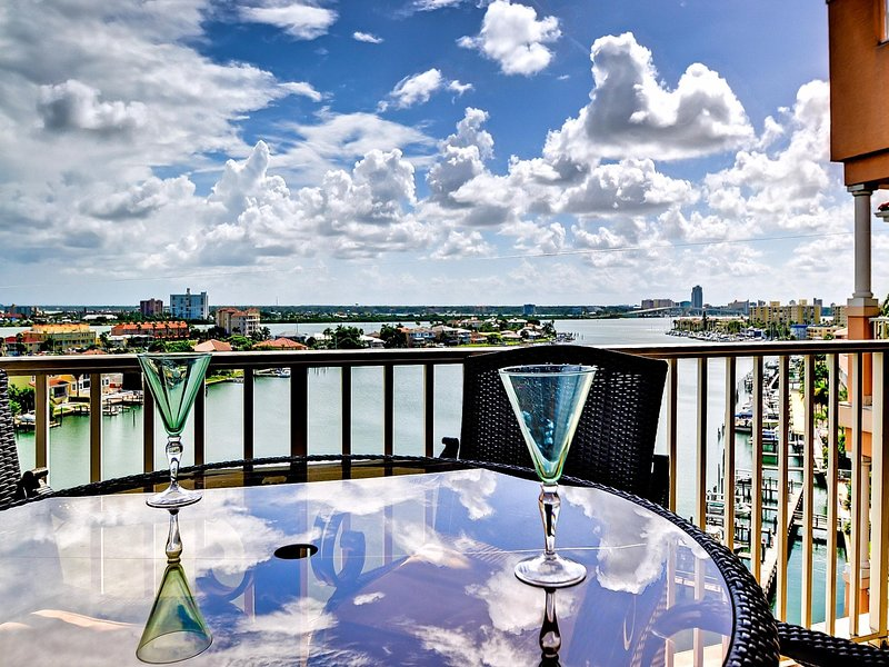 Harborview Grande vacation rental on Clearwater Harbor.