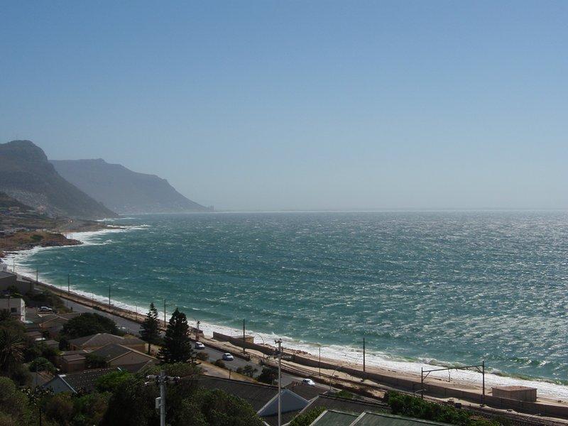 Una vista desde nuestro balcón