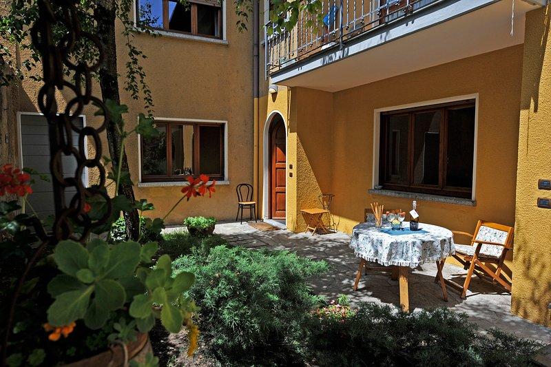 Privat trädgård Menaggio 57