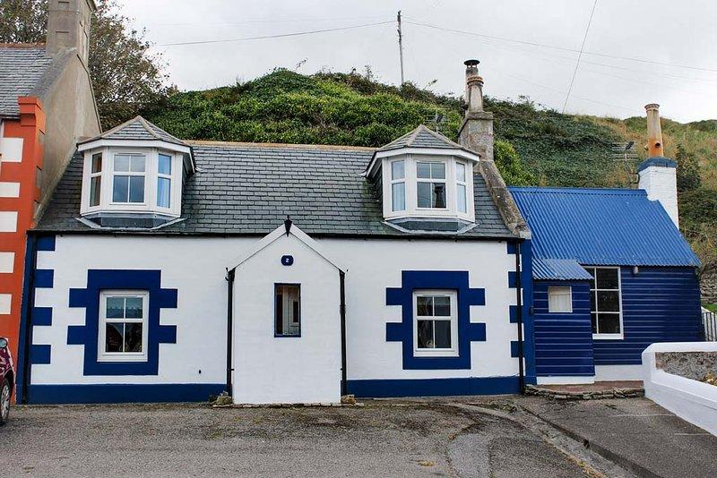 Fisherman's Cottage, Station Road, Findochty, Ferienwohnung in Moray