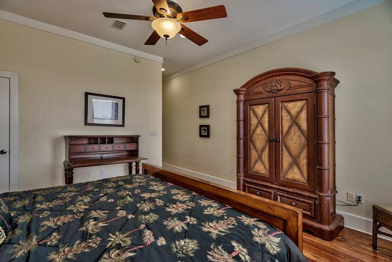 Master Bedroom with Desk + Walk-In Closet