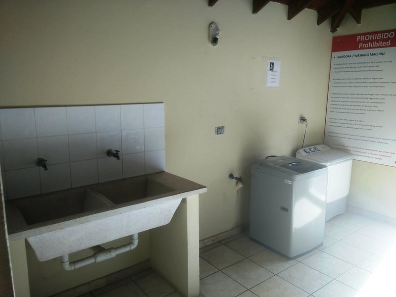 área de serviço no mesmo edifício