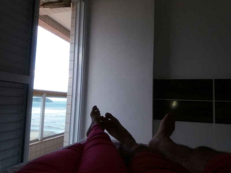 couple ocean view from the master bedroom