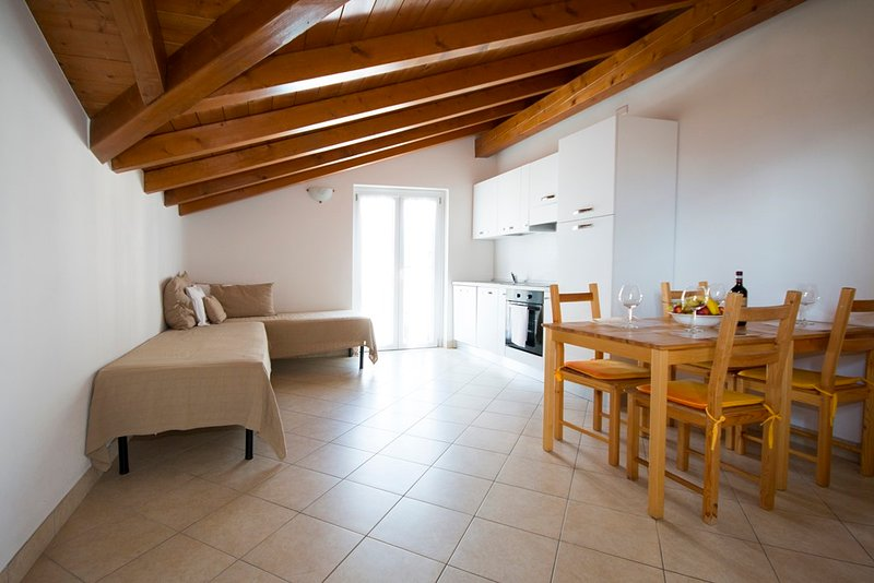 Lakeside attic apartment up to 4persons near the beach, holiday rental in Domaso