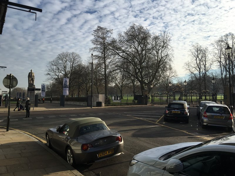 Main Gates to Greenwich Park and Maritime Museum. 40m from the property.