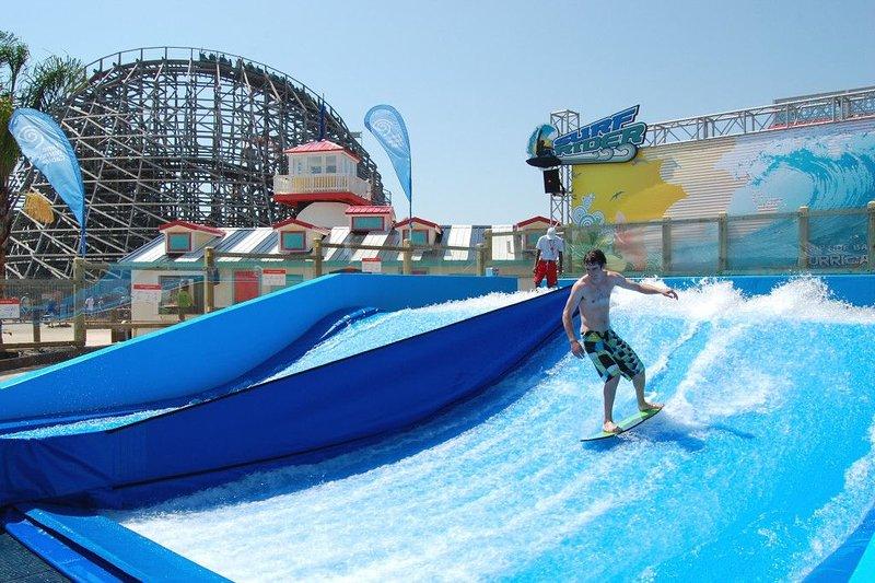 Great America Amusement Park ongeveer 20 mijl afstand