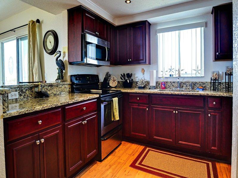Complete updated kitchen
