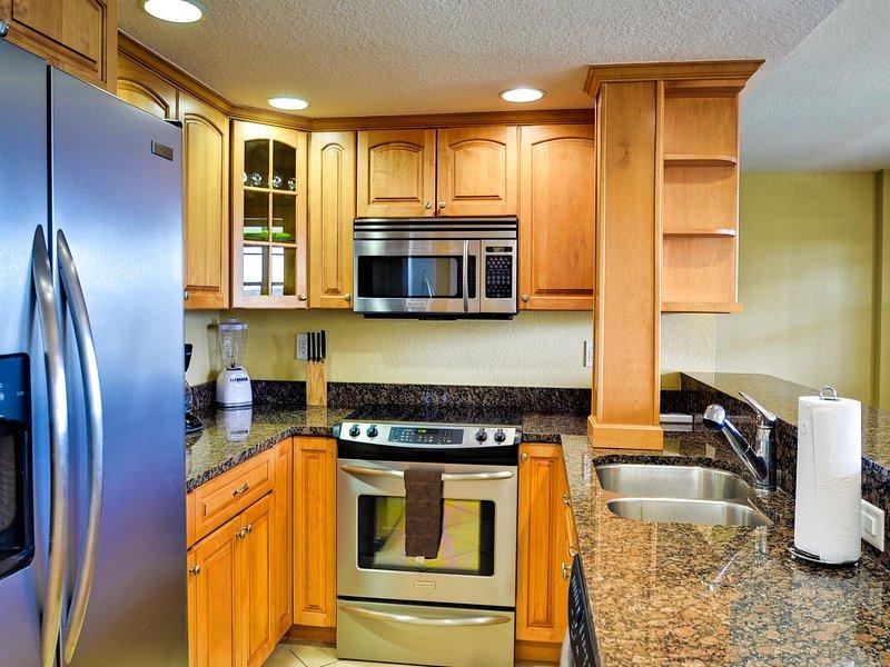 Hasta la fecha los electrodomésticos y encimeras de piedra en la cocina