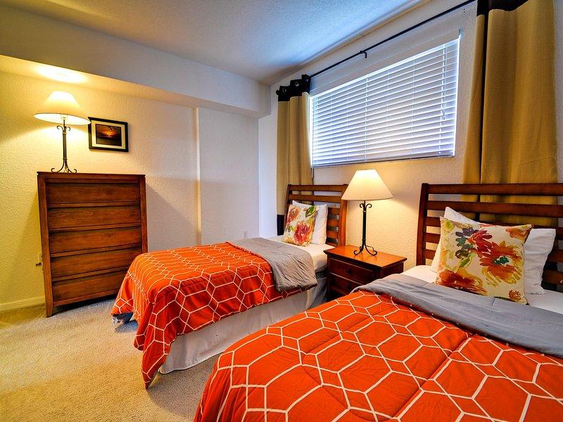 El segundo dormitorio es ideal para niños o invitados