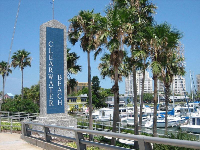 Bienvenido a Clearwater Beach.