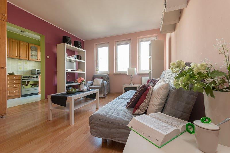 Studio Apartment BIELANY 4, Ferienwohnung in Czosnow