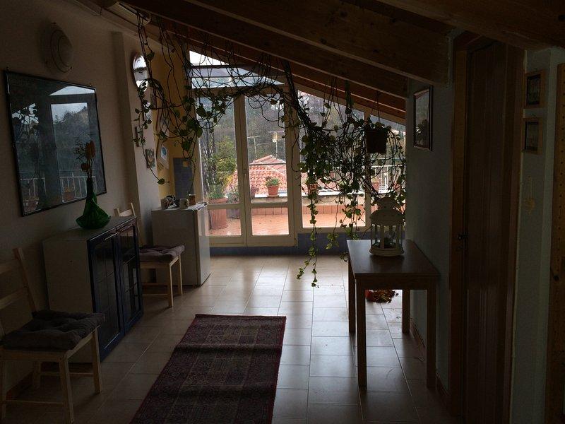 La mansarda è un open space con terrazza., Ferienwohnung in Roccapiemonte