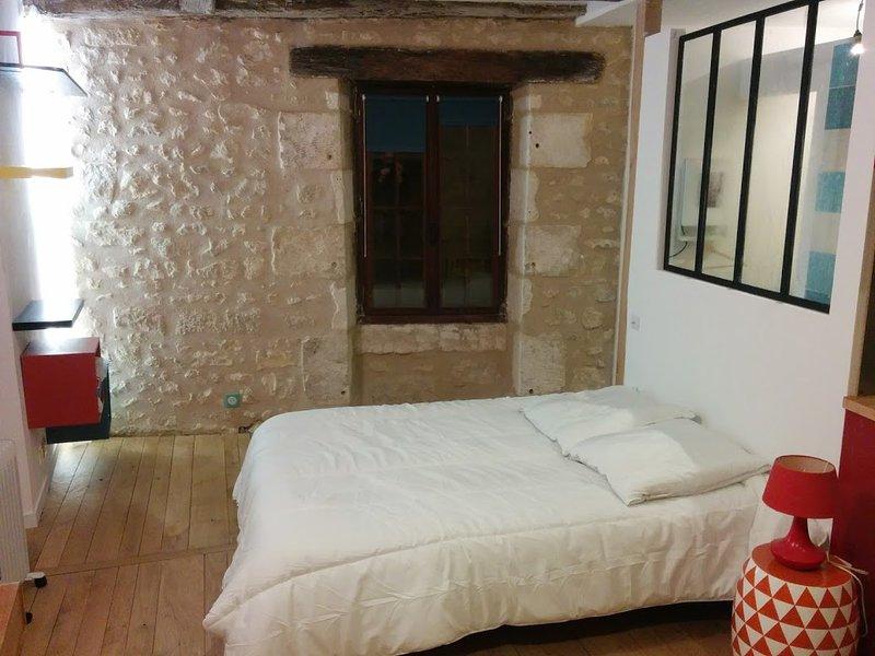 Studio au coeur de la cité médiévale, vacation rental in Chauvigny