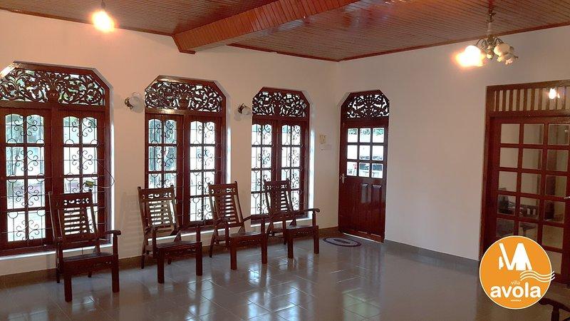 Auténtica arquitectura de Sri Lanka