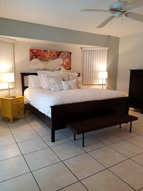 Master bedroom on suite