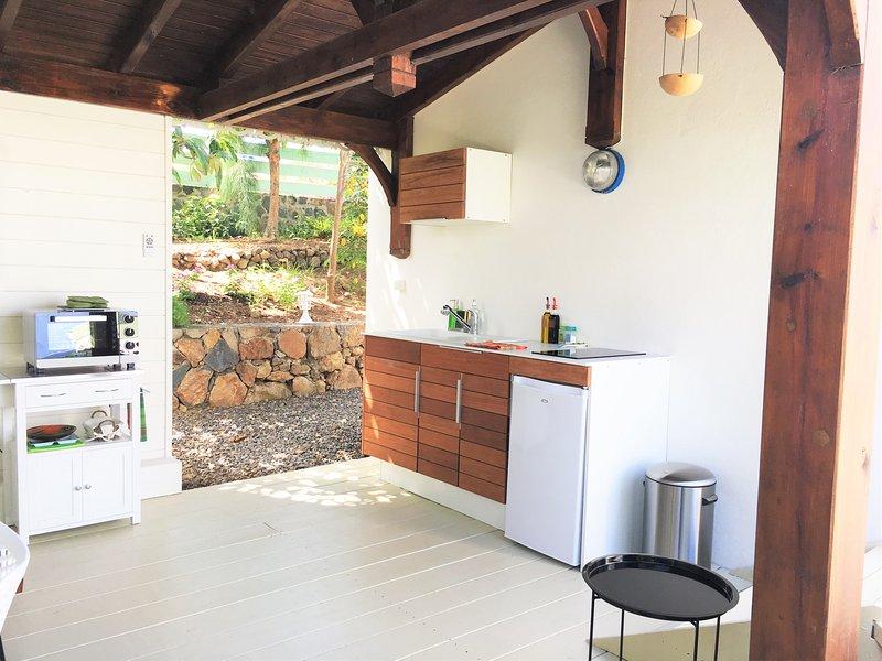Cocina al aire libre estudio de mango - La vida es bella