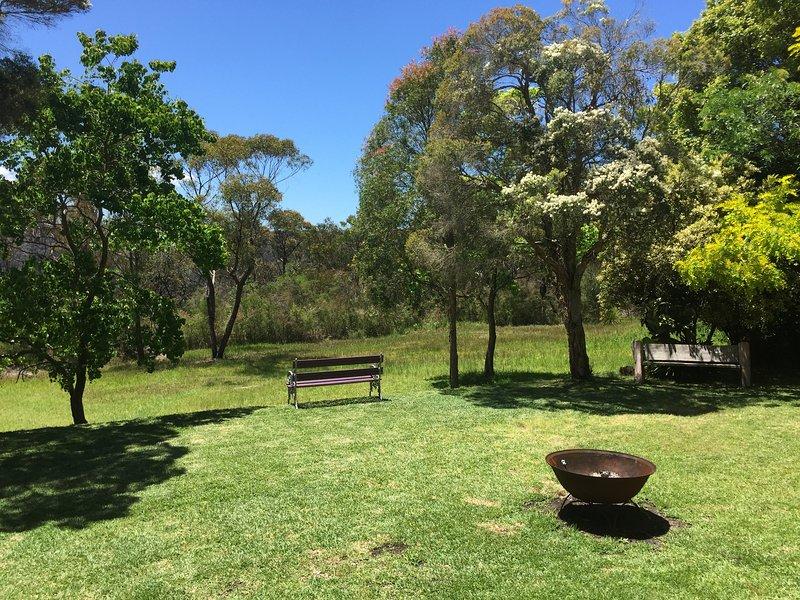 Με θέα την ειρηνική bushland