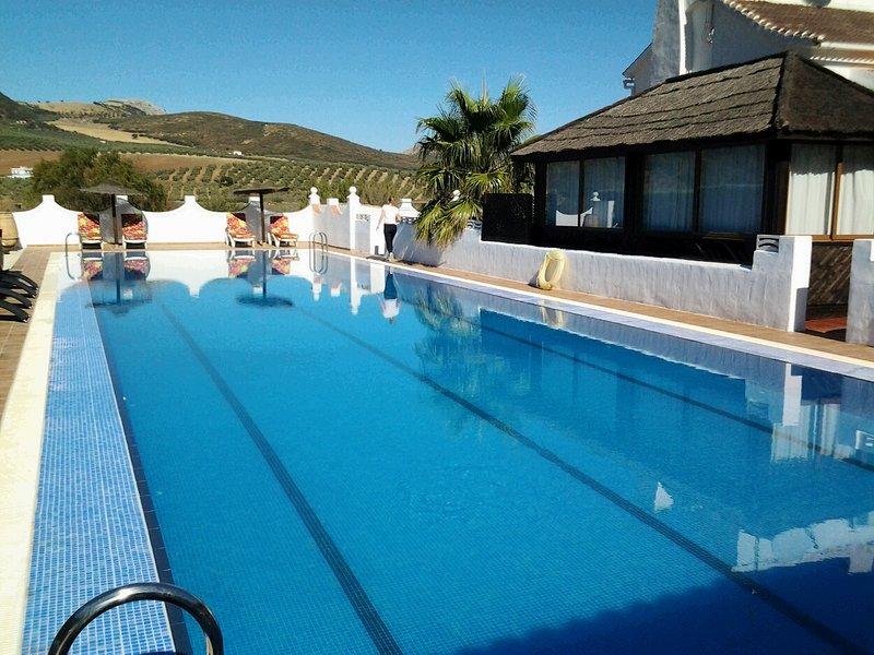 25metre heated pool