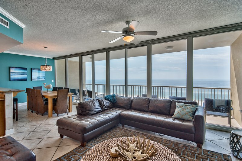 30-foot wide WALL OF GLASS overlooking Gulf - truly mesmerizing!
