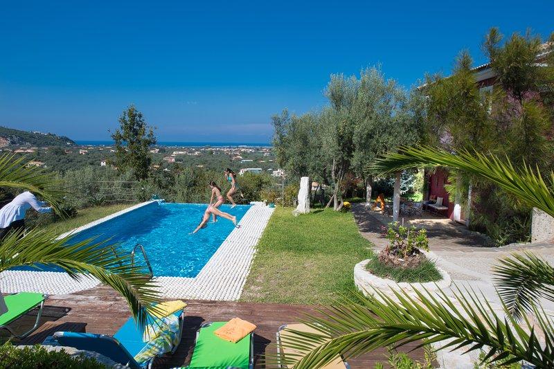 32m2 piscina privada de excelente design e estilo com sistema de hidrólise