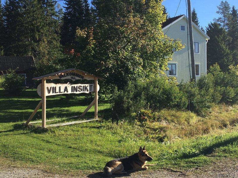 Willkommen in der Villa Insight Denn hier beginnt die Straße, um das Bewusstsein und Wohlbefinden.