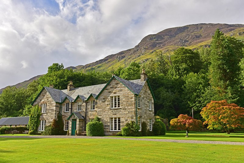 Chesthill House and Estate, Glen Lyon, Perthshire, alquiler vacacional en Lawers