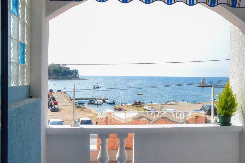STUDIO TONI FOR COUPLES  PETS FRIENDLY, BALCONY WITH SEA VIEW, WI-FI, PARKING, casa vacanza a Savudrija