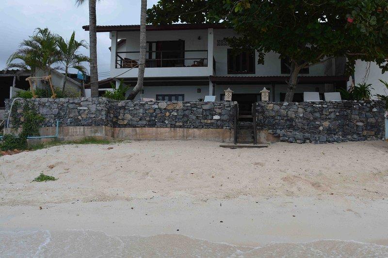 La casa vista desde el mar