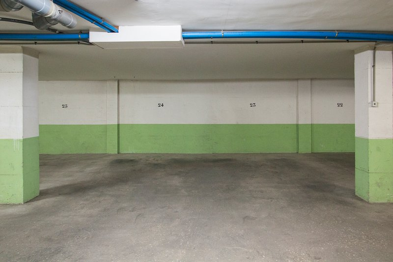Secure, underground parking space for use during your stay