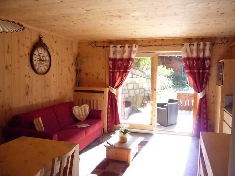 Chalet Al Bait Del Legn, location de vacances à Valdisotto