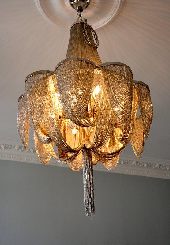 lámparas de araña hermosas
