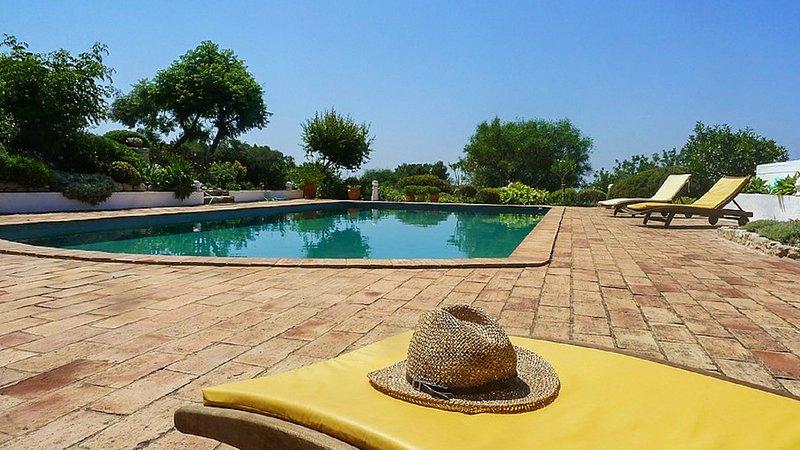 Spacious villa with swimming-pool, alquiler vacacional en Silves