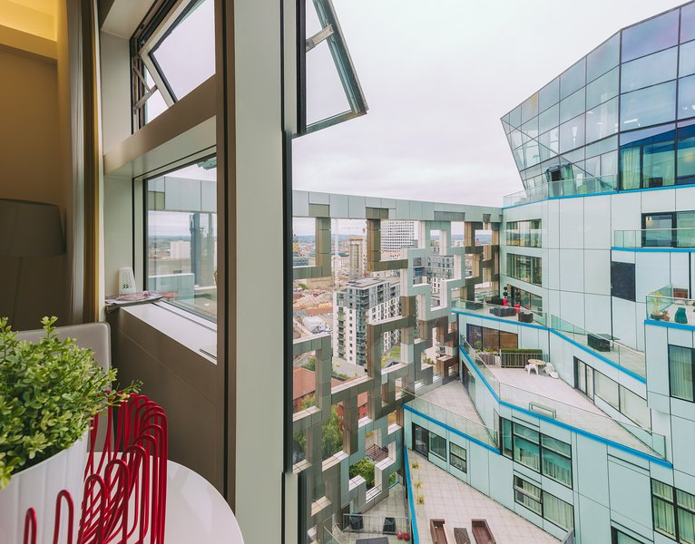 Stylish Stay in the Sky, Ferienwohnung in Birmingham